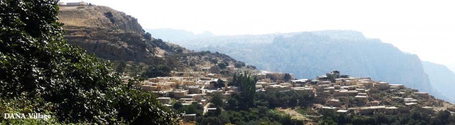 Dana village jordan