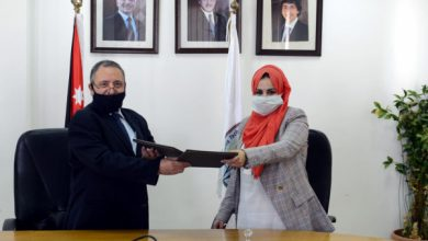 Photo of Tafila Technical Signs a cooperation agreement with the Golden Iris Academy